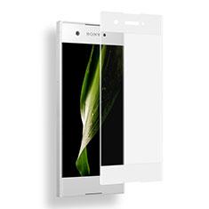 Protector de Pantalla Cristal Templado Integral para Sony Xperia XA1 Blanco