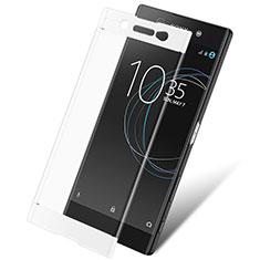 Protector de Pantalla Cristal Templado Integral para Sony Xperia XA1 Ultra Blanco