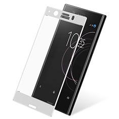 Protector de Pantalla Cristal Templado Integral para Sony Xperia XZ1 Compact Blanco