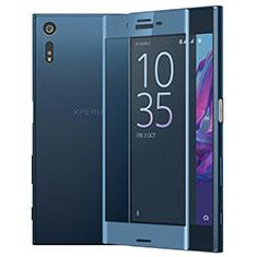 Protector de Pantalla Cristal Templado Integral para Sony Xperia XZs Azul