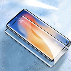 Protector de Pantalla Cristal Templado Integral para Vivo X50 Pro 5G Negro