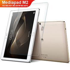 Protector de Pantalla Cristal Templado para Huawei MediaPad M2 10.0 M2-A01 M2-A01W M2-A01L Claro