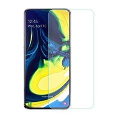 Protector de Pantalla Cristal Templado para Samsung Galaxy A80 Claro
