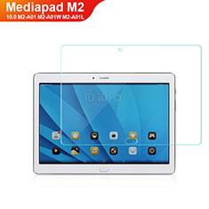 Protector de Pantalla Cristal Templado T01 para Huawei MediaPad M2 10.0 M2-A01 M2-A01W M2-A01L Claro