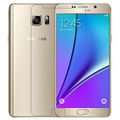Protector de Pantalla Cristal Templado T02 para Samsung Galaxy Note 5 N9200 N920 N920F Claro