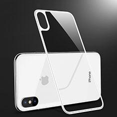 Protector de Pantalla Cristal Templado Trasera B09 para Apple iPhone Xs Blanco