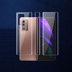 Protector de Pantalla Trasera B01 para Samsung Galaxy Z Fold2 5G Claro
