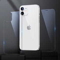 Protector de Pantalla Ultra Clear Frontal y Trasera Cristal Templado para Apple iPhone 12 Claro