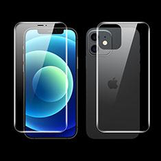 Protector de Pantalla Ultra Clear Frontal y Trasera F01 para Apple iPhone 12 Claro