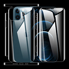 Protector de Pantalla Ultra Clear Frontal y Trasera para Apple iPhone 12 Pro Max Claro
