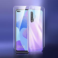 Protector de Pantalla Ultra Clear Frontal y Trasera para Huawei Nova 6 5G Claro