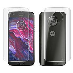 Protector de Pantalla Ultra Clear Frontal y Trasera para Motorola Moto X4 Claro