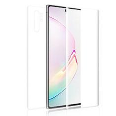 Protector de Pantalla Ultra Clear Frontal y Trasera para Samsung Galaxy Note 10 Plus 5G Claro