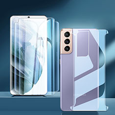 Protector de Pantalla Ultra Clear Frontal y Trasera para Samsung Galaxy S21 5G Claro