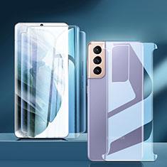 Protector de Pantalla Ultra Clear Frontal y Trasera para Samsung Galaxy S21 Plus 5G Claro