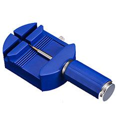 Removedor Pin Banda Correa Reloj Quitar Eslabones Reparar Herramienta Pernos para Apple iWatch 5 44mm Azul