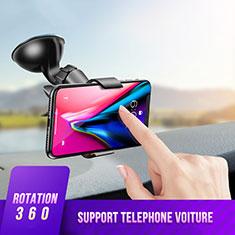 Soporte de Brazo Ventosa de Coche Universal H07 para Sony Xperia XA3 Ultra Negro