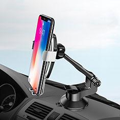 Soporte de Brazo Ventosa de Coche Universal H10 para Sony Xperia XA2 Plata