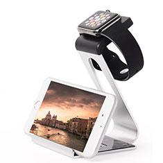 Soporte Dock Base Charging de Carga Cargador C02 para Apple iWatch 5 44mm Plata