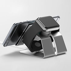 Soporte Dock Base Charging de Carga Cargador C03 para Apple iWatch 4 44mm Negro