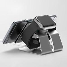 Soporte Dock Base Charging de Carga Cargador C03 para Apple iWatch 5 44mm Negro
