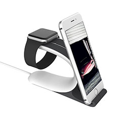 Soporte Dock Base Charging de Carga Cargador C05 para Apple iWatch 3 38mm Plata
