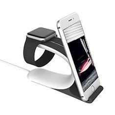 Soporte Dock Base Charging de Carga Cargador C05 para Apple iWatch 5 44mm Plata