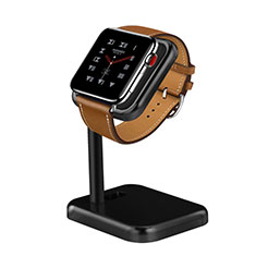 Soporte Dock Base Charging de Carga Cargador para Apple iWatch 4 44mm Negro