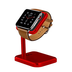 Soporte Dock Base Charging de Carga Cargador para Apple iWatch 5 40mm Rojo