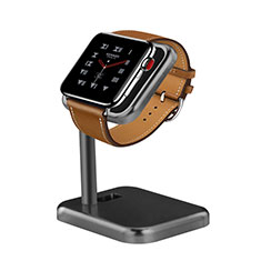 Soporte Dock Base Charging de Carga Cargador para Apple iWatch 5 44mm Gris