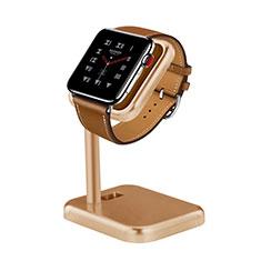 Soporte Dock Base Charging de Carga Cargador para Apple iWatch 5 44mm Oro