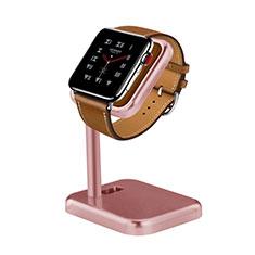 Soporte Dock Base Charging de Carga Cargador para Apple iWatch 5 44mm Oro Rosa