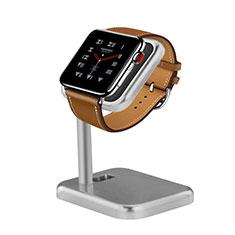 Soporte Dock Base Charging de Carga Cargador para Apple iWatch 5 44mm Plata