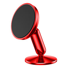 Soporte Magnetico Salpicadero de Coche Universal S01 para Oppo A15 Rojo