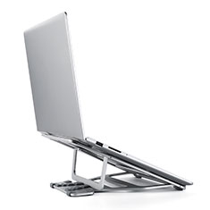 Soporte Ordenador Portatil Universal K03 para Samsung Galaxy Book Flex 13.3 NP930QCG Plata
