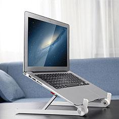 Soporte Ordenador Portatil Universal K13 para Samsung Galaxy Book Flex 13.3 NP930QCG Plata