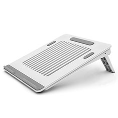 Soporte Ordenador Portatil Universal T04 para Samsung Galaxy Book Flex 13.3 NP930QCG Blanco