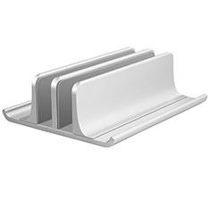Soporte Ordenador Portatil Universal T06 para Samsung Galaxy Book Flex 13.3 NP930QCG Plata