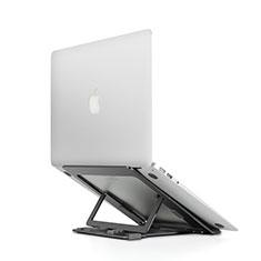 Soporte Ordenador Portatil Universal T08 para Huawei Honor MagicBook 15 Negro