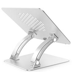 Soporte Ordenador Portatil Universal T09 para Huawei Honor MagicBook 15 Plata