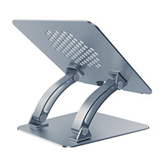 Soporte Ordenador Portatil Universal T09 para Samsung Galaxy Book Flex 13.3 NP930QCG Gris