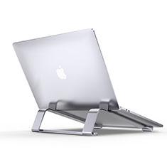 Soporte Ordenador Portatil Universal T10 para Huawei MateBook D15 (2020) 15.6 Plata