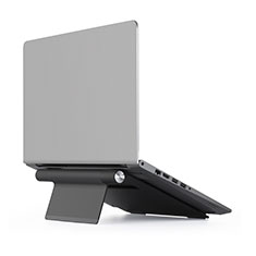 Soporte Ordenador Portatil Universal T11 para Apple MacBook 12 pulgadas Negro