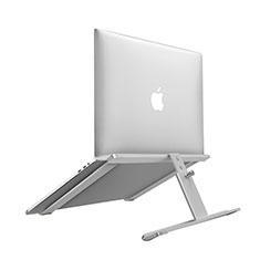 Soporte Ordenador Portatil Universal T12 para Huawei Honor MagicBook Pro (2020) 16.1 Plata