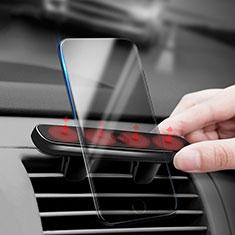 Soporte Universal de Coche Rejilla de Ventilacion Magnetico Sostenedor C03 para Sony Xperia XA2 Negro