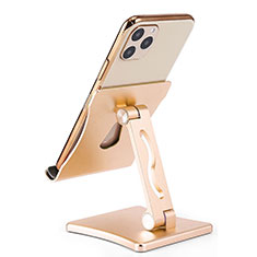 Soporte Universal De Movil Sostenedor K32 para Apple iPhone 12 Mini Oro