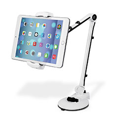 Soporte Universal Sostenedor De Tableta Tablets Flexible H01 para Huawei MatePad 5G 10.4 Blanco