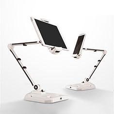 Soporte Universal Sostenedor De Tableta Tablets Flexible H07 para Huawei MatePad 10.8 Blanco