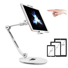 Soporte Universal Sostenedor De Tableta Tablets Flexible H08 para Xiaomi Mi Pad Blanco