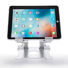 Soporte Universal Sostenedor De Tableta Tablets Flexible H09 para Samsung Galaxy Note 10.1 2014 SM-P600 Blanco